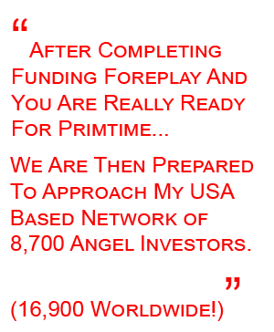 Angel Investor Network - Funding Foreplay