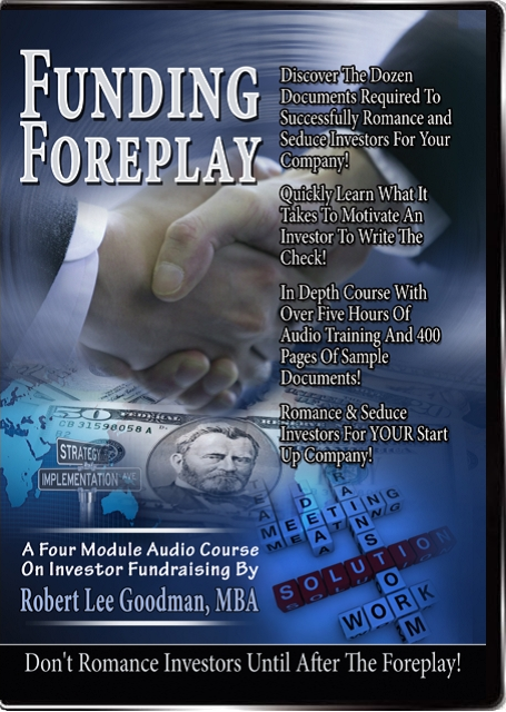 Complete Funding Foreplay Audio Course with Documents